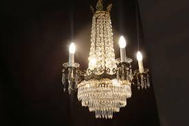 napoleon iii chandelier bohemian crystal