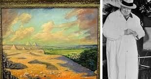 winston churchill s paintings to go on from private es collection es live
