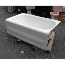 exquisite cast iron bathtub for in 1920s corner tub antique duck walk