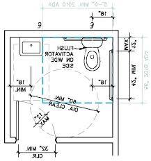 ada bathroom sink. Ada Bathroom Size Requirements Compliant . Sink A