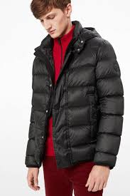 andy down jacket in black