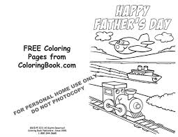 free coloring pages father s day card