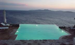 Infinity Swimming Pools Night View tdil Pool