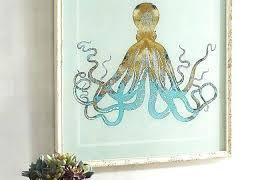 metal octopus wall art winsome octopus wall art also purple blue decor wood walls nautical s metal octopus wall art