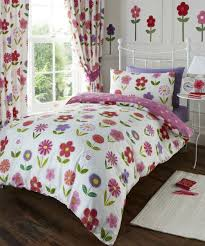 little flowers duvet debenhams kids bedding sets curtains tokida for childrens quilt cover pillowcases set with