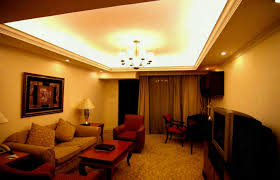 Cove Ceiling Lighting Idea For Simple Living Room Design Our
