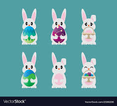 Easter Template Collection Of Easter Bunny Template Design