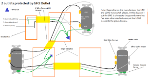 2 gang outlet wiring car wiring diagram download cancross co Wiring Gfci Outlets In Series outlet wiring diagrams wiring how to 2 gang outlet wiring gfci wiring diagram how to connect gfci outlets in series