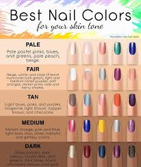 Skin Tone Nail Polish Color Matching Chart Where To Buy Color Street Nails In 2019 Nail Colors For