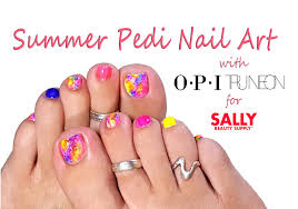 Perfect Summer Pedi - EASY Toe Nail Art Tutorial with Sally Beauty ...