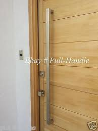 square pull long door handle entry modern pulls stainless steel front door glass 2