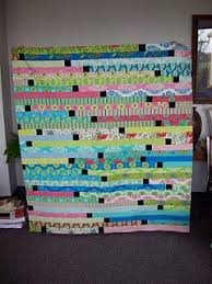 41 best 1600 Jelly Roll Race images on Pinterest | Quilting ideas ... & jelly roll race with 2.5 inch black inch squares in between each strip Adamdwight.com
