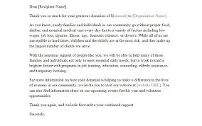 Giving Donation Letter Template Sample Reinadela Selva