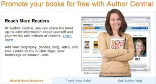 amazon authorcental