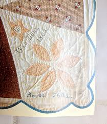 Dear Jane quilts | I Finally Have Time & Label from Jane's quilt.
