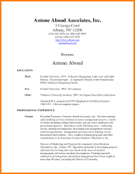 Associates Degree Resume Professional Resume Templates