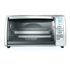 oster large capacity convection countertop oven black toaster silver digital
