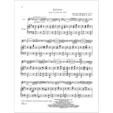 bach sheet music piano bach js arioso from cantata no 156 for cello and piano arranged