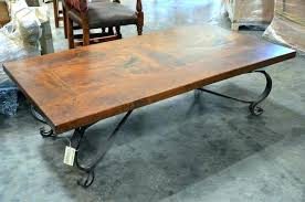 iron coffee table legs wrought and black base outdoors x in surprising glass modern for