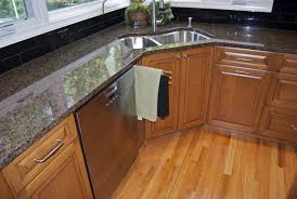 Kitchen Cabinet For Sink Best And Cool Corner Kitchen Sink For Clean Home