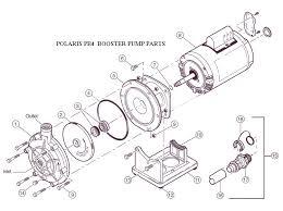 polaris pb4 60 booster pump replacement parts pb4 60 booster pump before 30 2011