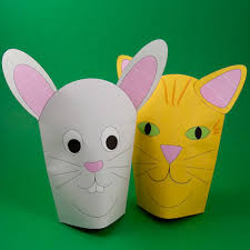 How To Make Simple Paper Hand Puppets Puppets Around The