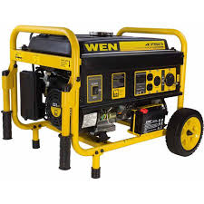 WEN Generator with Electric Start and Wheel Kit CARB Compliant