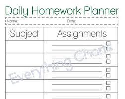 homework planner template pdf microsoft word 2013 complete homework planner template essay