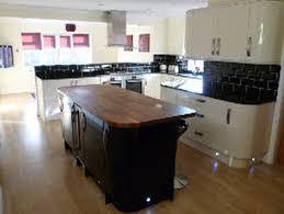 small kitchen island butcher block. Modern Kitchen Design Ideas With White Island Small Wooden Butcher Block Countertop And Cabinetry E