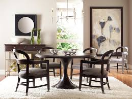 onyx dining table inspiration stanley furniture modern portfolio 5 piece 54 inch round dining