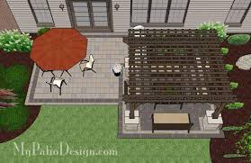 simple brick patio designs. Simple Simple Simple And Affordable Brick Patio Design With Pergola 2  In Designs