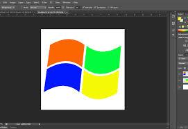 Microsoft Logo Design Software How To Draw The Microsoft Windows Logo In Photoshop 11 Steps