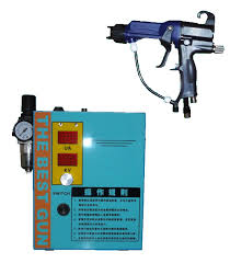 name taiwan s built in hand held electrostatic spraying equipment model 2400 2400 liquid electrostatic spray