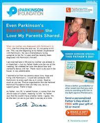 natl parkinson foundation invites