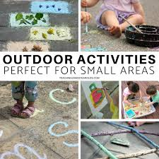 outdoor activities for preschoolers. These Preschool Outdoor Activities Don\u0027t Take Up A Lot Of Space, So They For Preschoolers W