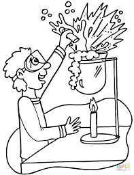 Small Picture Chemistry Coloring Page Coloring Pages Ideas Reviews
