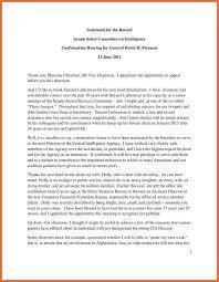 Opening Resume Statement Examples Caudit Kaptanband Co