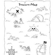 Small Picture pirate treasure map worksheet Preschool worksheets Pinterest