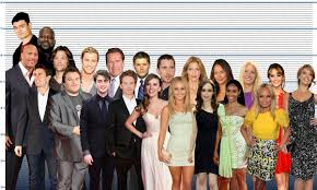 Celebrity Height Chart Tumblr I Made A Celebrity Height Chart And Put Jared And Jensen In