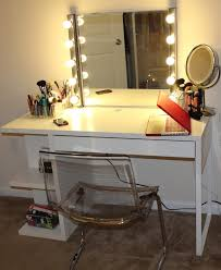 makeup vanity table with lighted mirror ideas dressing table with lighted mirror