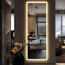 white warm lights china led mirror