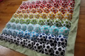 Bubble Blanket - Puff Blanket - Biscuit Quilt - Rainbow Polka Dots ... & Bubble Blanket - Puff Blanket - Biscuit Quilt - Rainbow Polka Dots Bubble  Baby Blanket with Adamdwight.com