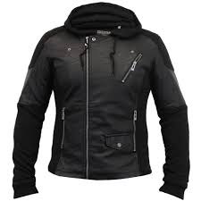 men s stylish leather look jackets by soul star lecterpkb zip fastening three pockets with zip fastening on the front