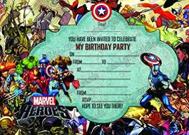 superheroes birthday party invitations boys super hero marvel hero super marvel hero birthday party