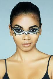 face paint ideas bat mask