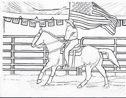 Small Picture Amazing Rodeo Coloring Pages to Motivate in coloring image Cool