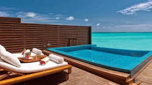 Malediven Ocean Villa Mit Privatem Pool Luxus Wasservillen