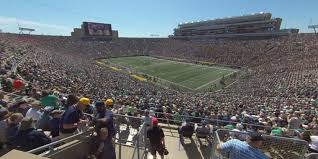 Notre Dame Stadium Section 106 Rateyourseats Com