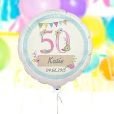personalised birthay craft balloon