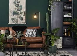 living room scandinavian living room green